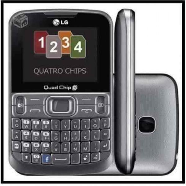 104352 LG C299 600x600 Celular 4 Chips em Promoção, Onde Comprar