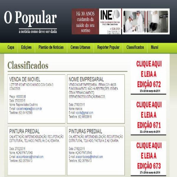 111513 o popular anuncio grátis 600x600 Classificados O Popular Anunciar Grátis Online