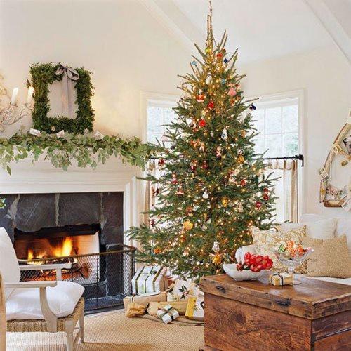 112723 decorar sala de estar para natal 18 Decorar Sala de Estar para Natal