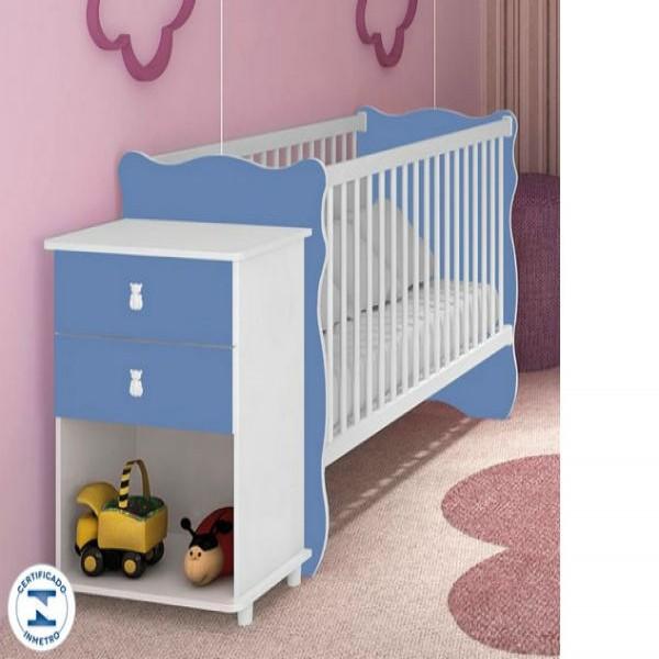 120415 berço azul bebe fofo 600x600 Berço De Bebê Barato , Preço, Onde Comprar