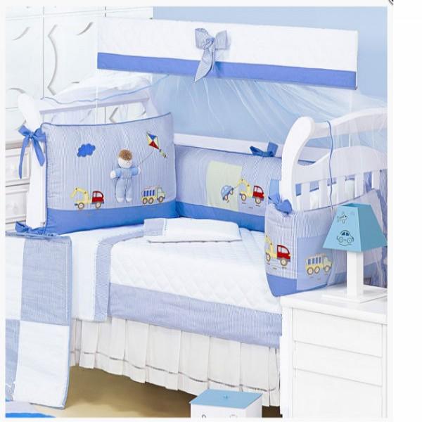 120415 berço tema brincadeira criança azul 600x600 Berço De Bebê Barato , Preço, Onde Comprar