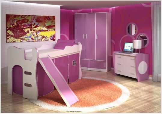 decoracao alternativa de quarto infantil: opção para decorar o quarto infantil feminino. (Foto: Divulgação