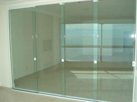126235 porta de vidro 02 Portas de Vidro Temperado, Preços