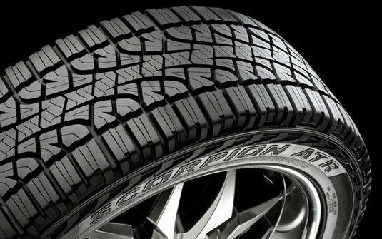 modelo de pneu