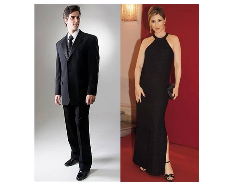 131915 traje de passeio social Traje Passeio Completo   Feminino e Masculino