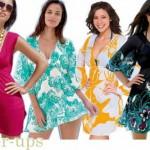 133259 estampas coloridas 150x150 Vestidos de Praia Verão 2011