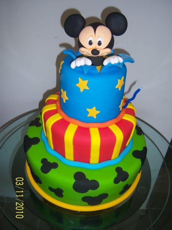 137658 Bolo Do Mickey 150x150 Decora    O De Bolo Infantil  Fotos