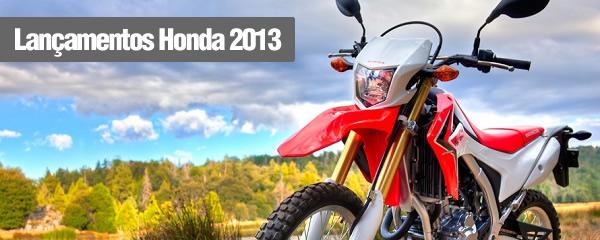 141869 lancamentos honda 2013 Motos Honda 2013 Lançamentos, Preços
