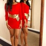 143979 acessórios dourados dão charme 150x150 Vestidos Curtos Vermelhos Dicas, Fotos