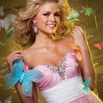 144462 cintura marcada e muito brilho no decote 150x150 Vestidos para Debutantes, Fotos, Modelos