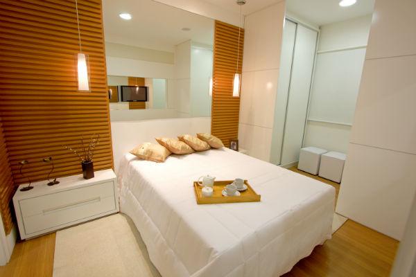 suite decorada moderna madeira