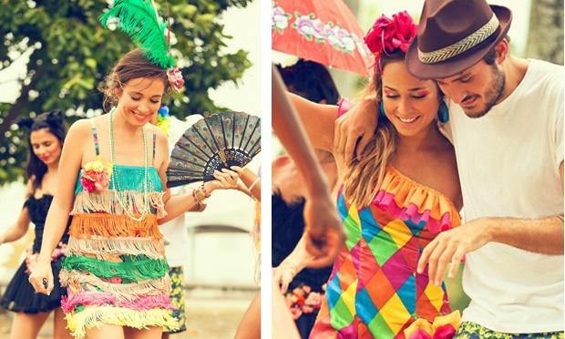 Fantasias mais usadas no Carnaval