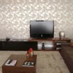 153944 papel de parede para sala 150x150 Leroy Merlin Papel de Parede