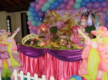 156164 barbie 2 Decoração da Barbie Para Aniversário