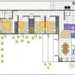 158105 Projeto de casa em formato de L 2 150x150 Planta de Casa em L