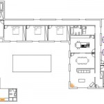 158105 Projeto de casa em formato de L 5 150x150 Planta de Casa em L