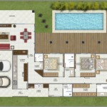 158105 Projeto de casa em formato de L 6 150x150 Planta de Casa em L