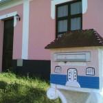 160804 caixa de correio em alvenaria com formato de casa 150x150 Caixas de Correio Modelos e Fotos