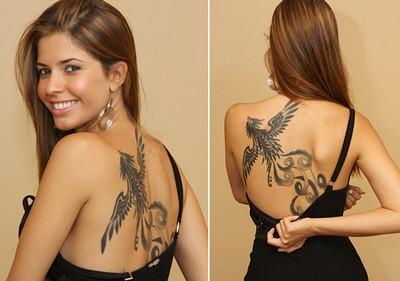 Tatuagem Feminina Nas Costas Fotos De Tatuagens Femininas