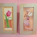 162085 quadros com decupagem e craquelê 150x150 Quadros decorativos para banheiro