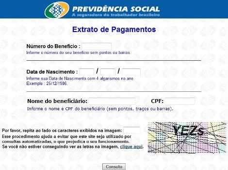 16479 Inss Dataprev Consulta Extratos de Pagamentos Benefícios Requerimentos 2 Inss Dataprev   Consulta Extratos de Pagamentos (Benefícios, Requerimentos)