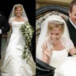 168977 vestido lindo cintura marcada 150x150 Vestidos de Casamentos das Rainhas