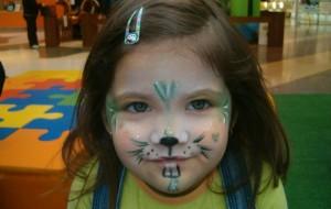 Como Fazer Pintura em Rosto Infantil