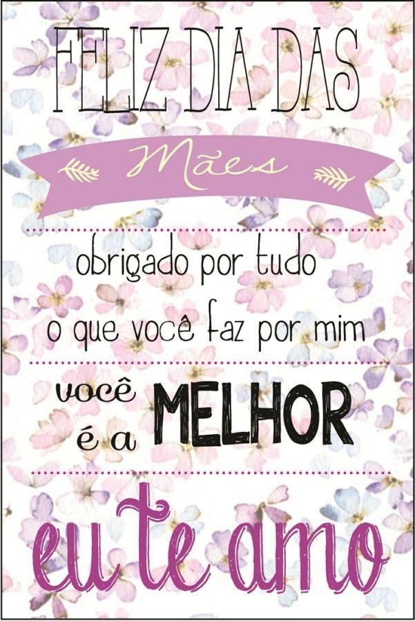 175736 Cartão Para Dia Das Mães 20 Modelos De Cartão Para Dia Das Mães