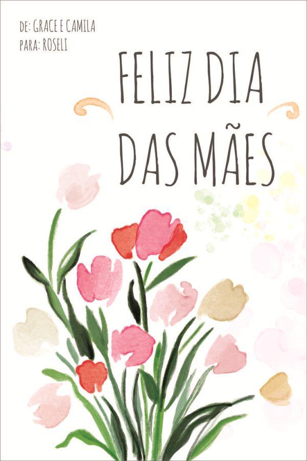 175736 Cartão Para Dia Das Mães 21 Modelos De Cartão Para Dia Das Mães