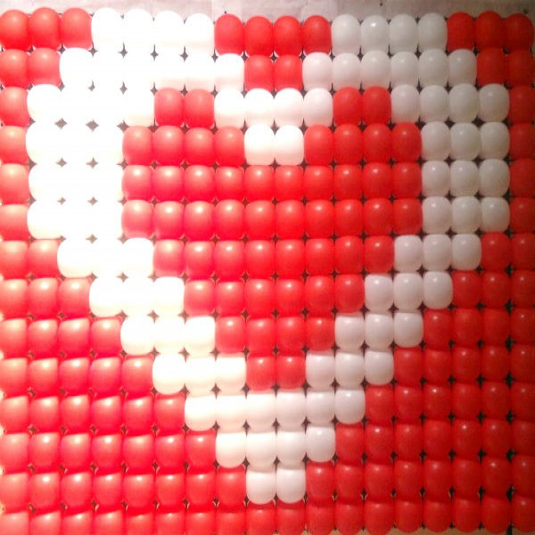 177691 decoração coração balão 600x600 Decoração Com Corações