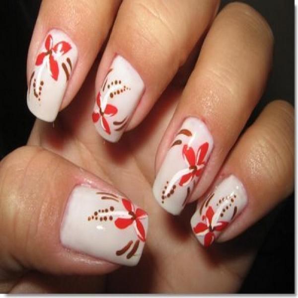 18057 unhas decoradas aprenda a fazer desenho nas unhas 11 600x600 Unhas Decoradas   Aprenda a fazer desenho nas unhas