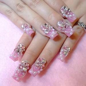 18057 unhas decoradas aprenda a fazer desenho nas unhas 16 300x300 Unhas Decoradas   Aprenda a fazer desenho nas unhas