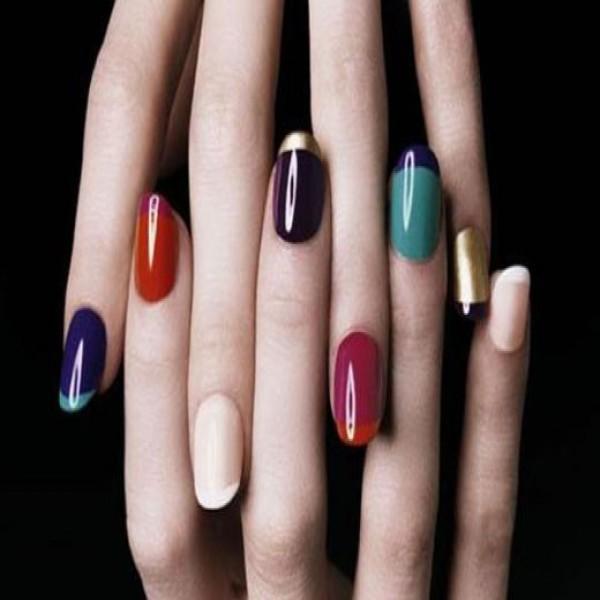 18057 unhas decoradas aprenda a fazer desenho nas unhas 9 600x600 Unhas Decoradas   Aprenda a fazer desenho nas unhas