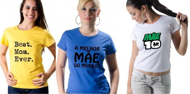 181511 Camisetas Personalizadas Dia das Mães 8 Camisetas Personalizadas Dia das Mães