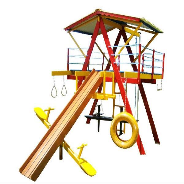 187257 playground de madeira medio 600x600 Playground Infantil de Madeira Preço, Onde Comprar
