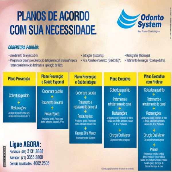 192502 planos odontológicos preços 600x600 Plano Odontológico Odonto System   Informações, Onde Fazer