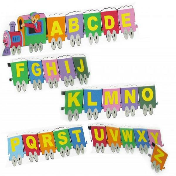 196689 painel eva alfabeto 600x600 Decoração Em EVA Para Sala De Aula