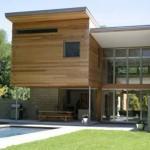 Casa com fachada minimalista