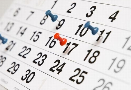 Confira o calendário de 2017 para planejar o próximo ano (Imagem: Divulgação)