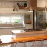 Cozinha americana moderna. (Foto: Divulgação)