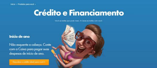 Empréstimos Caixa Econômica Federal