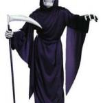 A fantasia de morte é um clássico na festa de Halloween. (Foto: Divulgação)
