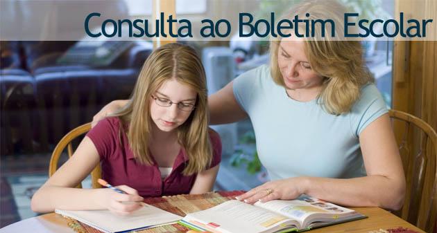 Boletim Escolar 2011 – Consulta ao Boletim Escolar