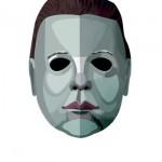 Máscara daquele famoso personagem do filme Halloween (Foto: Divulgação)