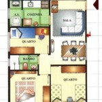 Planta De Casas Com 3 Quartos (6)