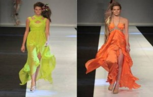 Vestidos longos Verão 2010