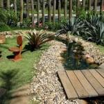 Frente de Casas Residenciais Decoradas Com Jardim Fotos1
