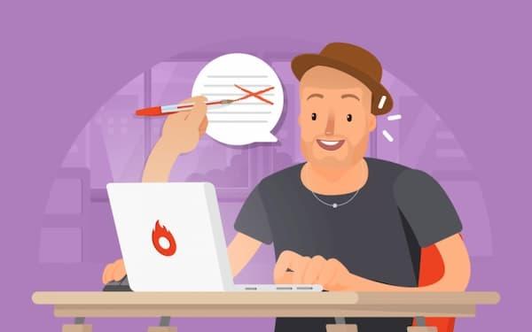 Aulas de Reforço Escolar Online na frente do notebook