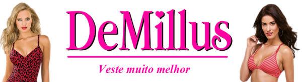 www.demillus.com.br: Site da Demillus
