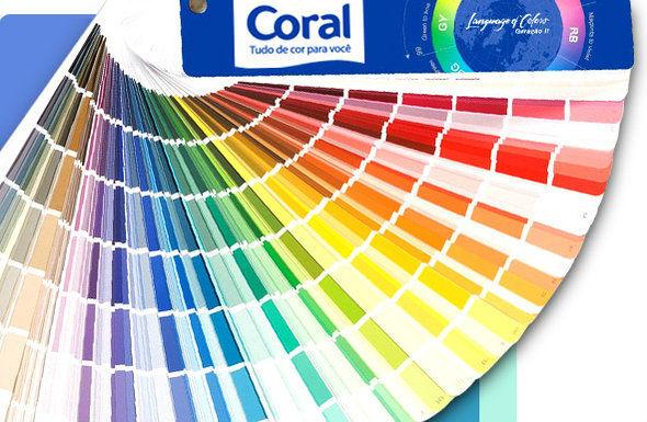 Tintas Coral Catálogo de Cores